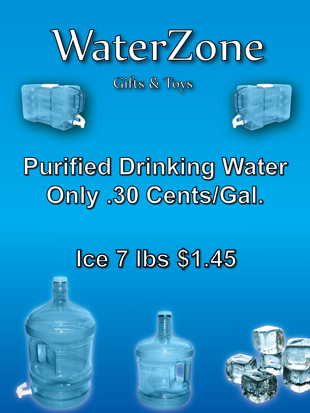 Home Water Zone Gift Amp Toys Purified Water Gifts